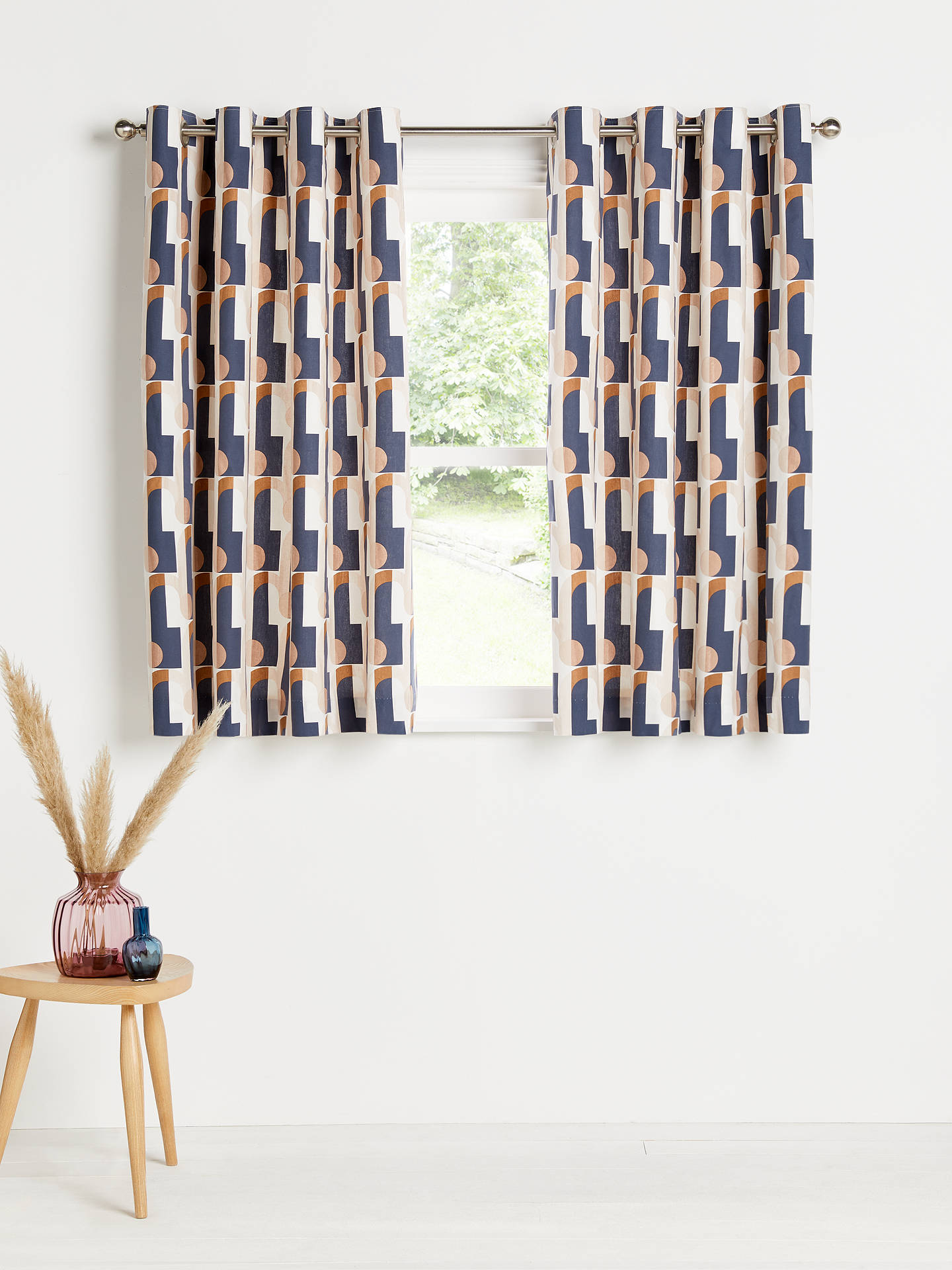 Buy John Lewis & Partners Arcade Pair Lined Eyelet Curtains, W228 x Drop 228cm Online at johnlewis.com