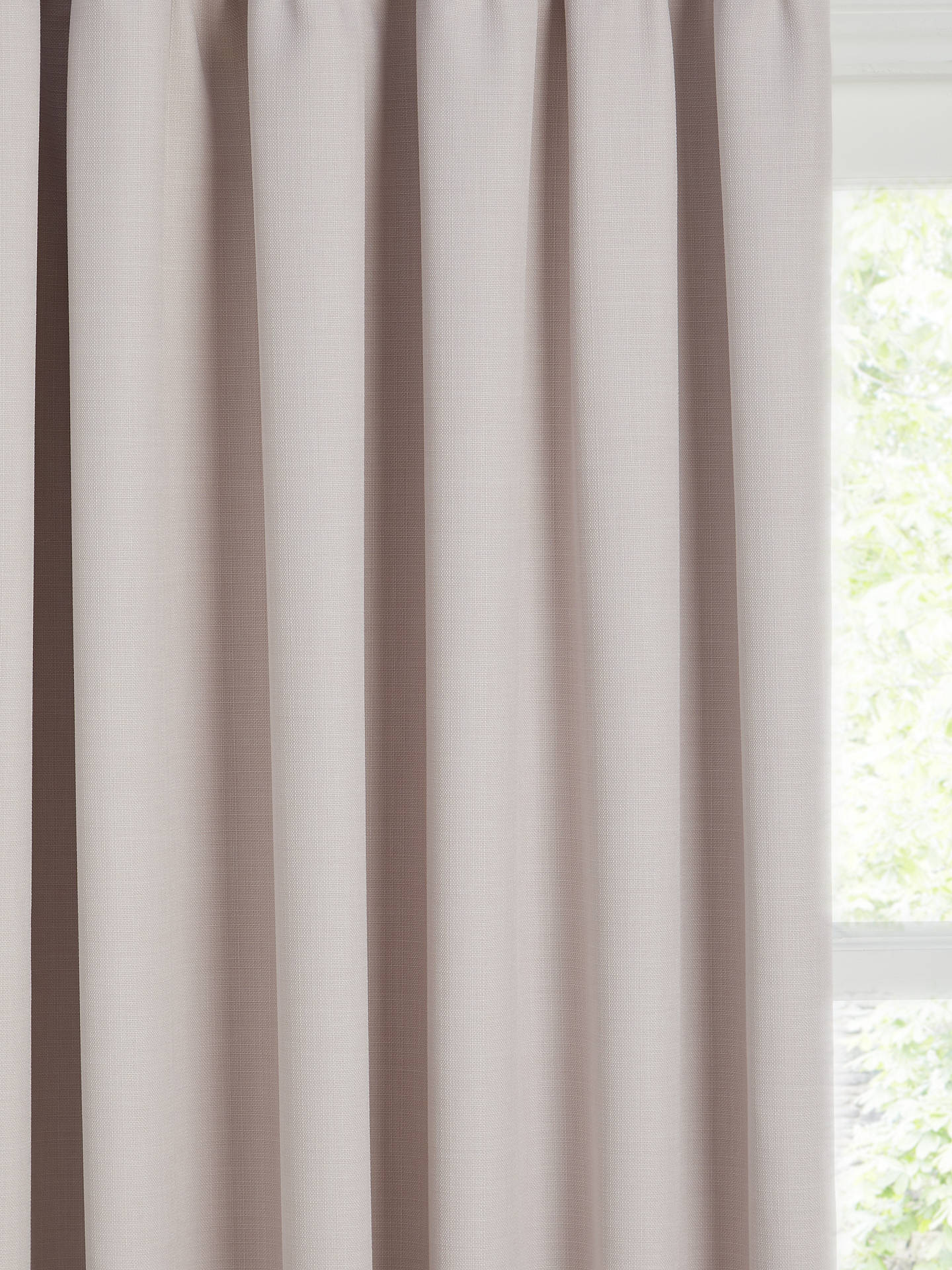 Buy John Lewis & Partners Barathea Pair Blackout Lined Pencil Pleat Curtains, Wisteria, W228 x Drop 274cm Online at johnlewis.com