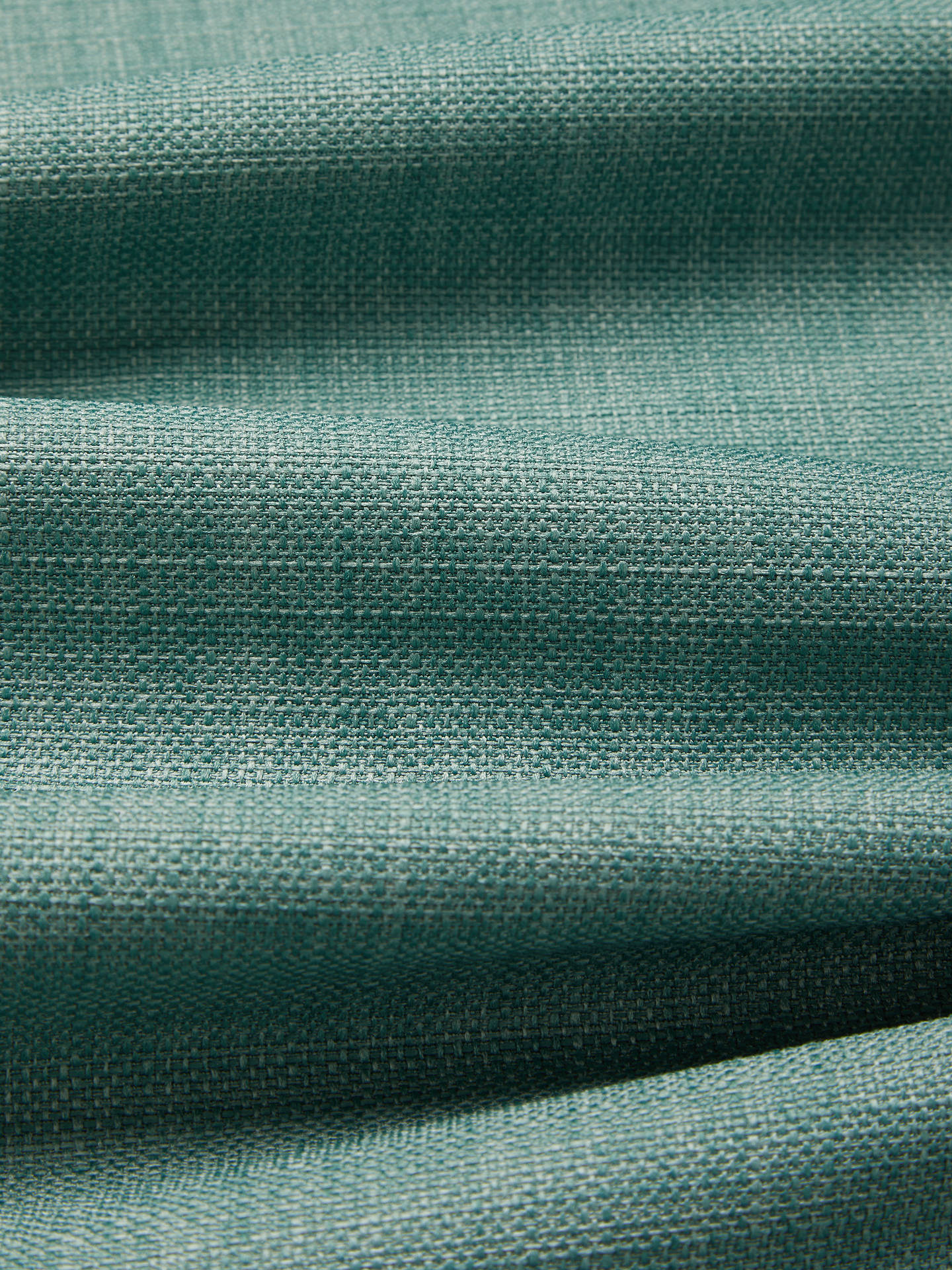 Buy John Lewis & Partners Barathea Pair Lined Eyelet Curtains, Spruce, W117 x Drop 137cm Online at johnlewis.com
