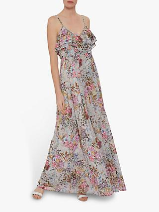 Gina Bacconi Carie Floral Maxi Dress, Multi