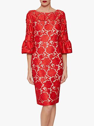 Gina Bacconi Genoveva Embroidered Dress 9437ada61