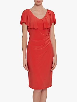 Gina Bacconi Sherilyn Neckline Dress