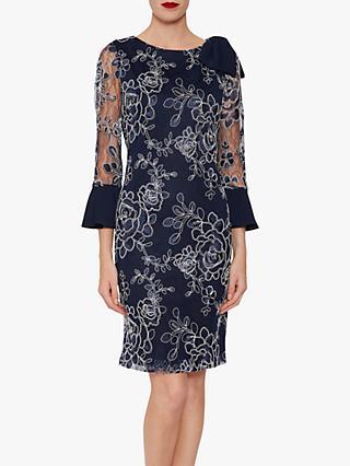 Gina Bacconi Melina Embroidered Dress 159bc276d4e