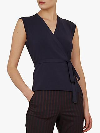 Ted Baker Linor Knitted Wrap Top