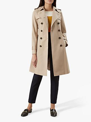 Hobbs London Saskia Trench Coat, Clay