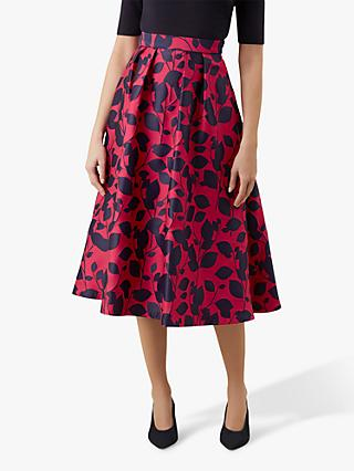 Hobbs Hermione Skirt, Midnight Cerise