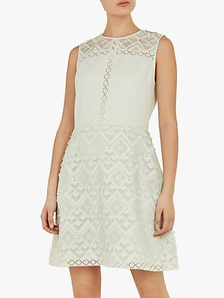 dcca8662bad455 Ted Baker Buttercup A-Line Geo Lace Tunic