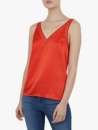 Ted Baker Lilyane V-Neck Mesh Cami Top