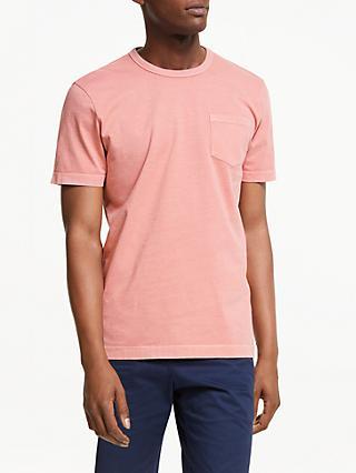 e197582bf14 John Lewis   Partners Garment Dye T-Shirt
