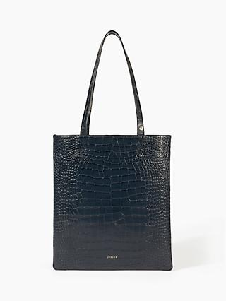 Jigsaw Sedar Croc Embossed Leather Bag d3cc2c57d3fec