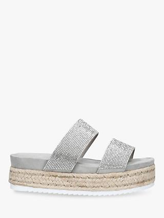 a3ba6d7ba9a Carvela Belize Embellished Slip-On Flat Sandals