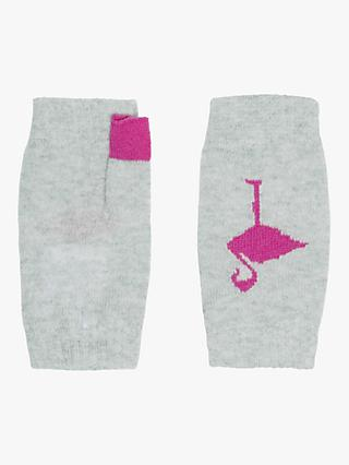 4cd52bf84fe5 Brora Cashmere Flamingo Wristwarmers