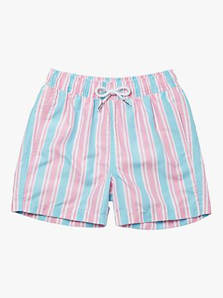 Boardies Candy Stripe Swim Shorts, Multi