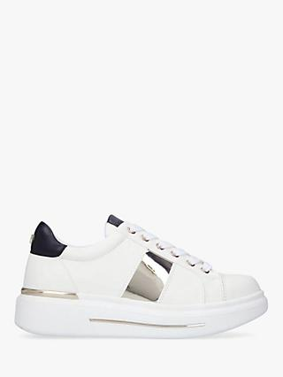 Carvela Jubilate Lace Up Chunky Trainers, White