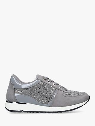 Carvela Jist Embellished Trainers, Grey