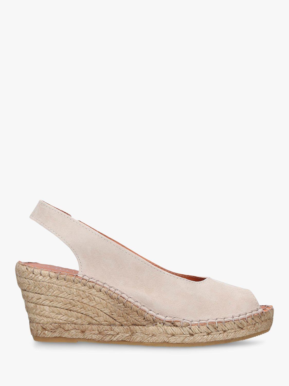 Carvela Comfort Carvela Comfort Sharon Wedge Heel Espadrille Sandals, Taupe Suede