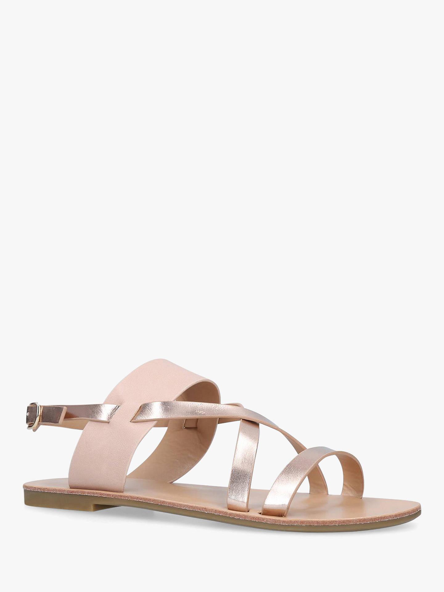 0b7c5f5b5 Carvela Brink Strappy Flat Sandals at John Lewis   Partners