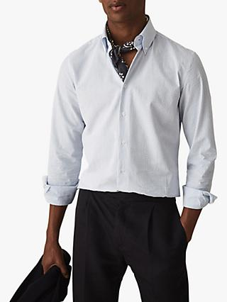 ebf72c171c5 Reiss Bappe Seersucker Stripe Shirt
