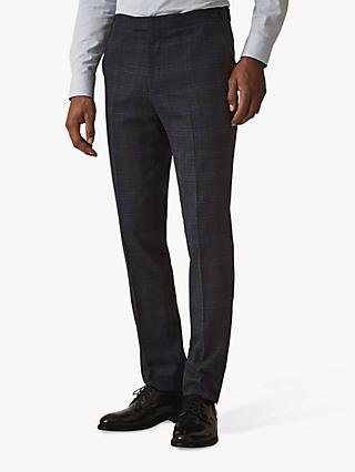 Reiss Fresco T-Mixer Tailored Suit Trousers, Navy