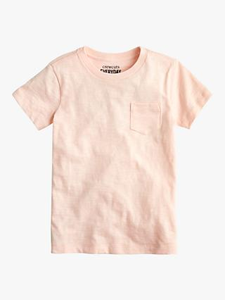 crewcuts by J.Crew Boys' Pocket Slub Cotton T-Shirt