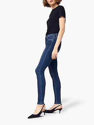Oasis Jade Classic Skinny Jeans, Blue