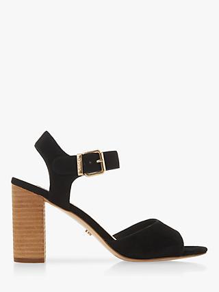 0f26b756076a6 Dune Isobela Block Heel Sandals