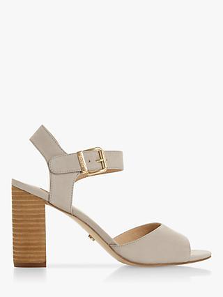 dcf8190bc Dune Isobela Block Heel Sandals