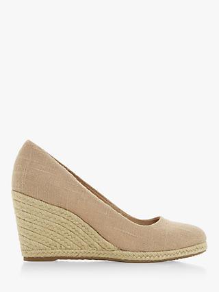 136566eb63c Dune Annabela High Wedge Heel Court Shoes