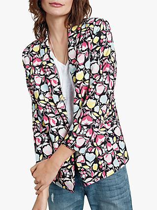 hush Printed Blazer, Abstract Floral