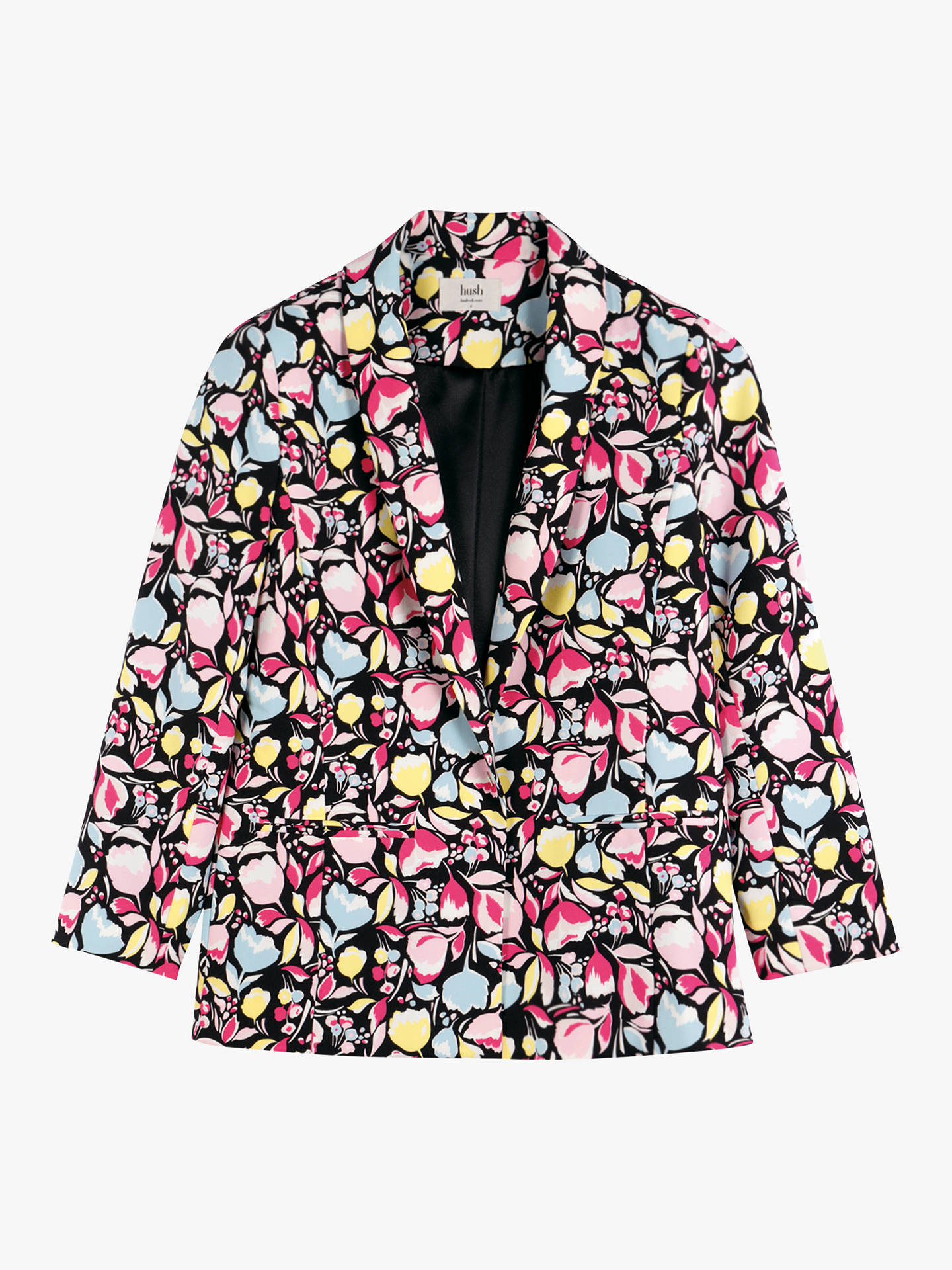 Buy hush Printed Blazer, Abstract Floral, 10 Online at johnlewis.com