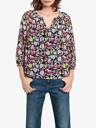 hush Tabitha Top, Abstract Floral
