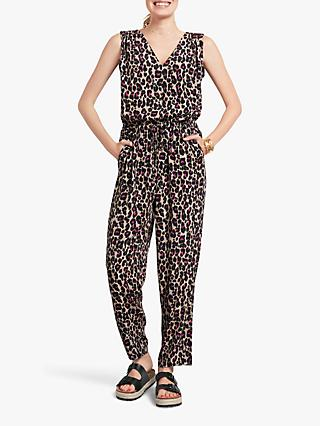 0f45e71785ce Exclusive to John Lewis   Partners and hush. hush Bambi Leopard Print  Jumpsuit