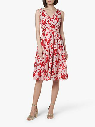 L.K.Bennett Lori Silk Bridesmaid Dress, Rose