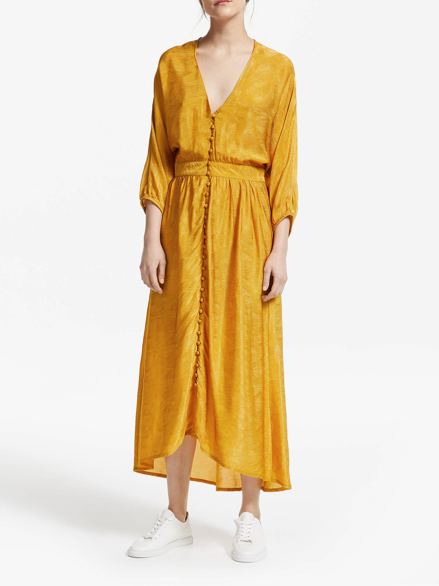 3fee13f8 Buy Gestuz Lilliane Dress, Yellow, 8 Online at johnlewis.com ...