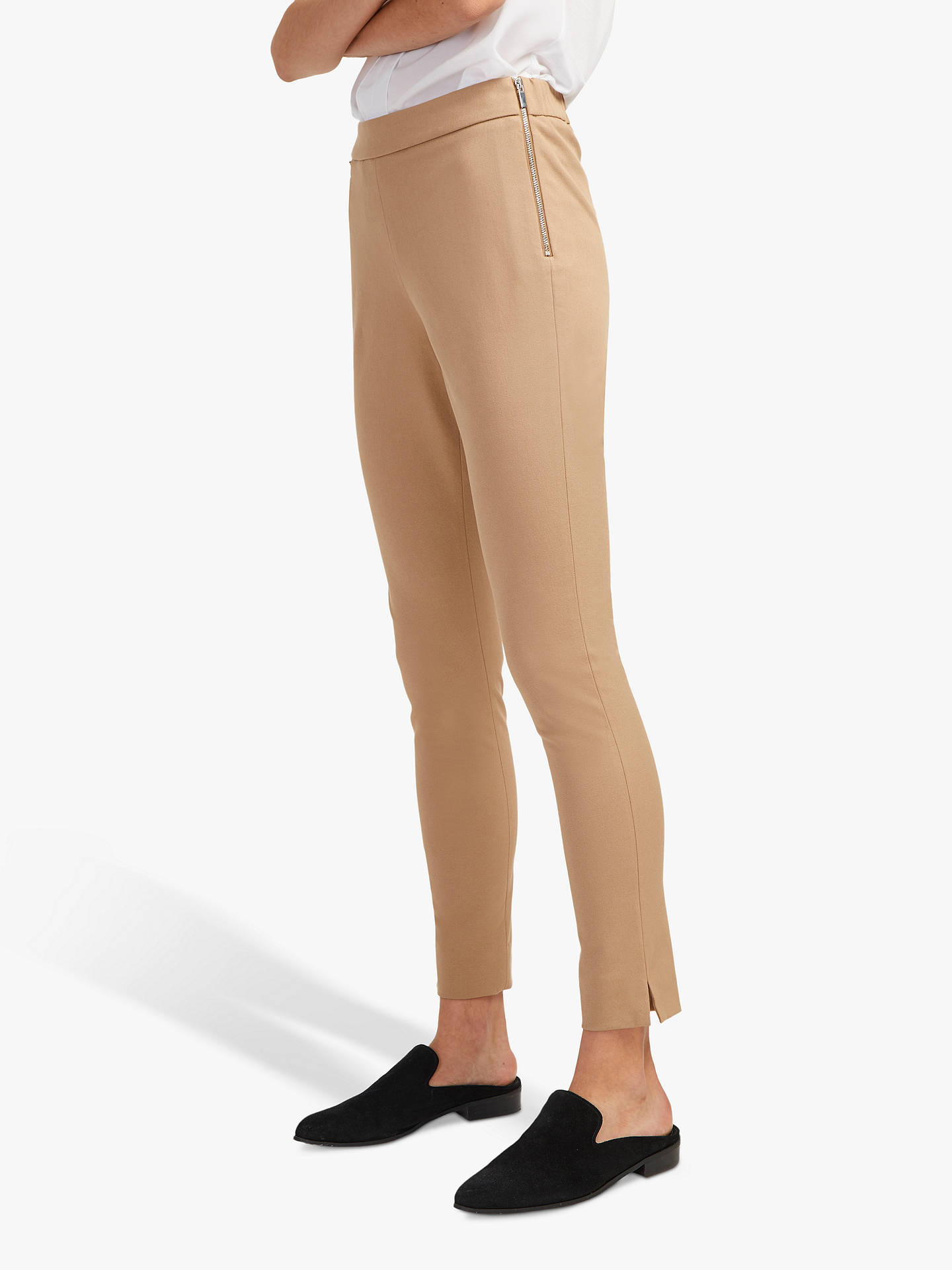 French Connection Kara Skinny Trousers, Wet Sand by French Connection