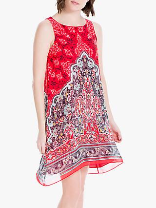 4227b0207aed5b Max Studio Sleeveless Printed Dress