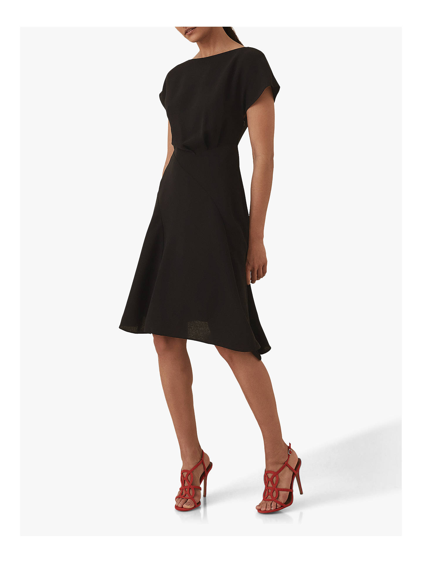 Reiss Victoria Cap Sleeve Dress at John Lewis & Partners