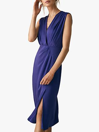 Reiss Elaini Occasion Dress, Blue