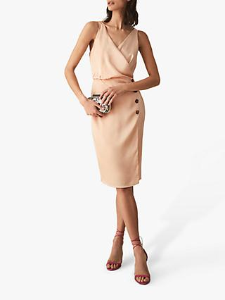 Reiss Peppa Button Cocktail Dress