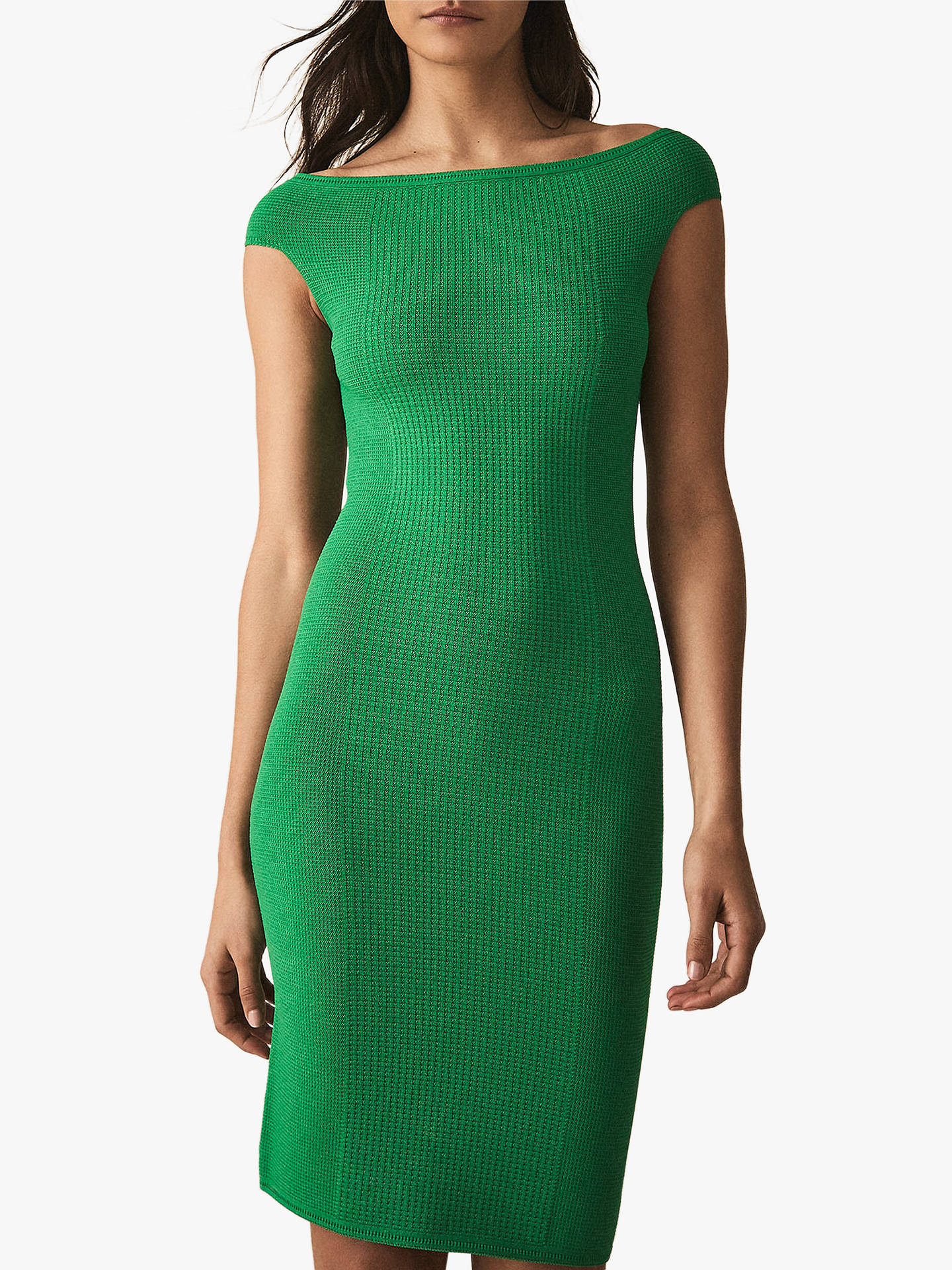 2461f93a50ab42 Reiss Pippa Textured Knitted Dress at John Lewis   Partners