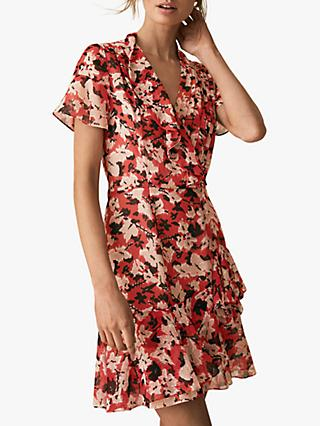 204a9456c62 Reiss Marseille Floral Ruffle Dress