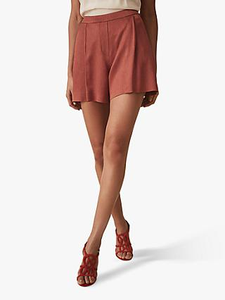 Reiss Ayla Textured Shorts