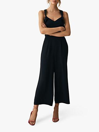 Reiss Amika Bow Back Jumpsuit