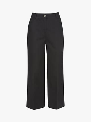 45c911f884 Mint Velvet Cropped Wide Leg Trousers
