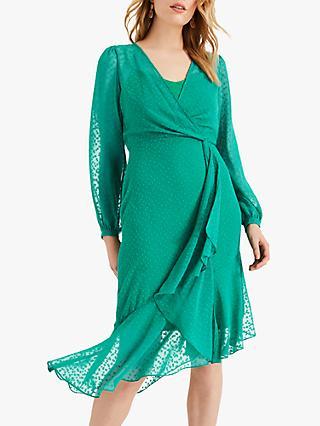 f3b5b0dbb2c3 Phase Eight Elaina Spot Detail Wrap Dress