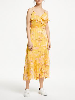 b42312ac4a Second Female Heat Wrap Maxi Dress, Daffodil