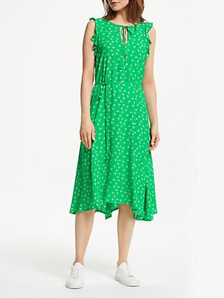 Just Female Elvira Dress, Green Bird