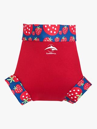 Konfidence Baby Clown Strawberry Neo Nappy Cover, Red