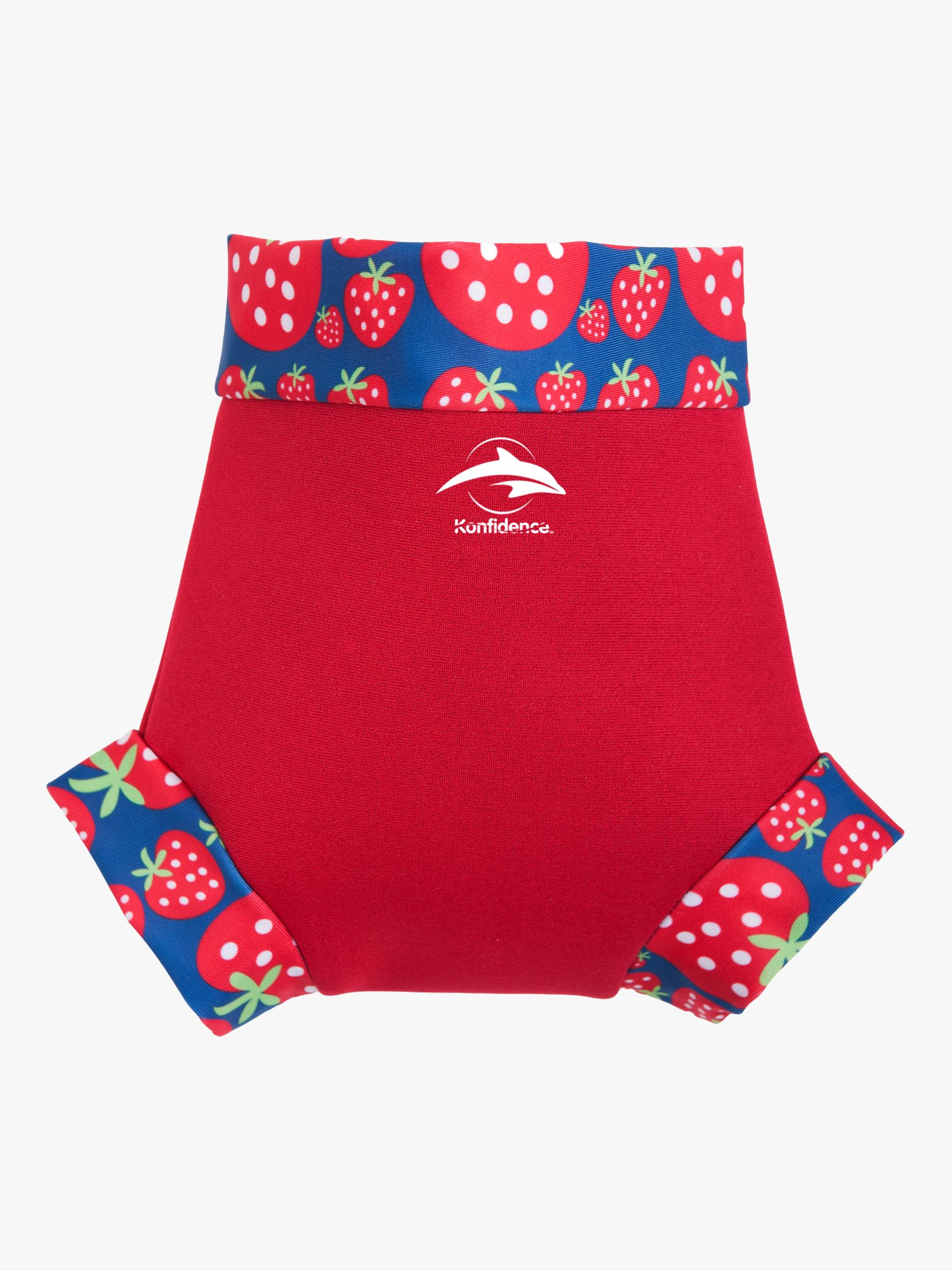 Konfidence Konfidence Baby Clown Strawberry Neo Nappy Cover, Red