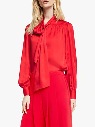John Lewis & Partners Gather Yoke Blouse